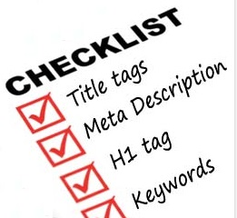 PM check-list for SEO
